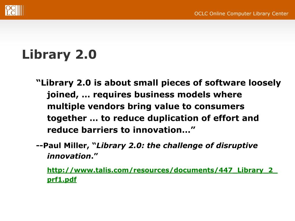 Library 2.0
