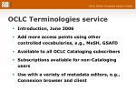 oclc terminologies service