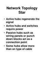 network topology star58