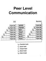 peer level communication81