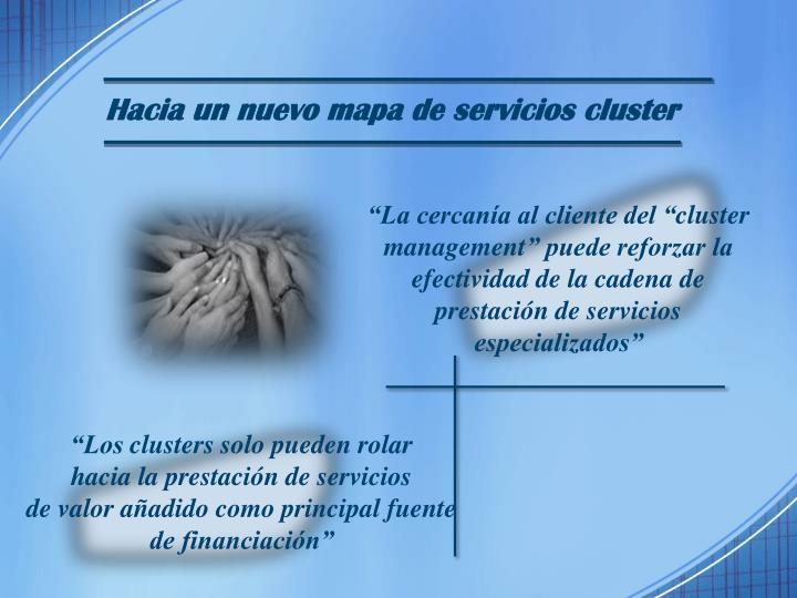 Hacia un nuevo mapa de servicios