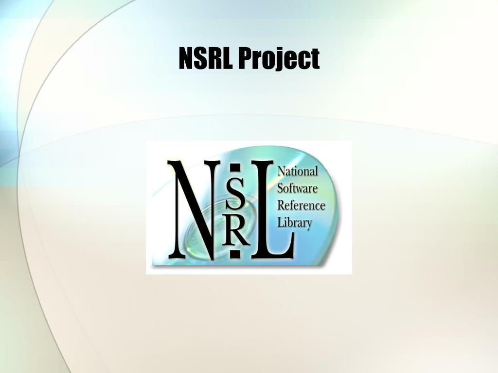 NSRL Project