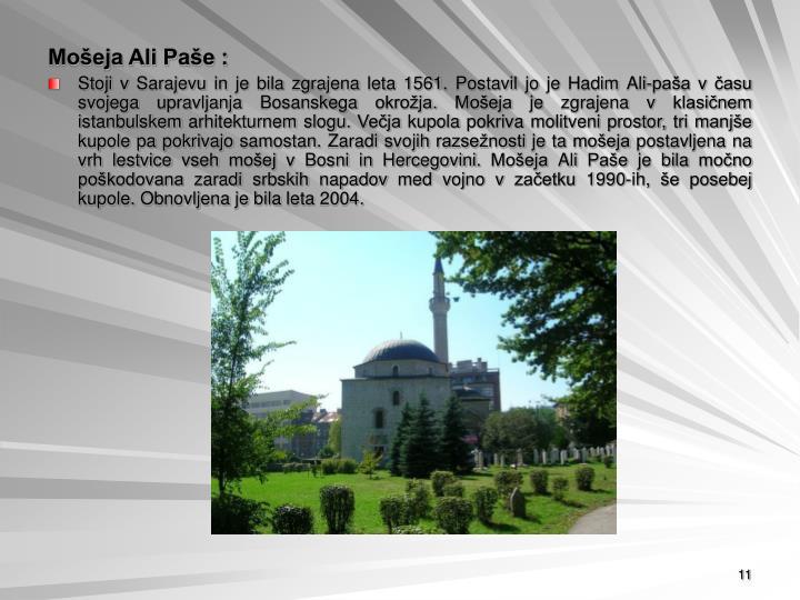 Mošeja Ali Paše :