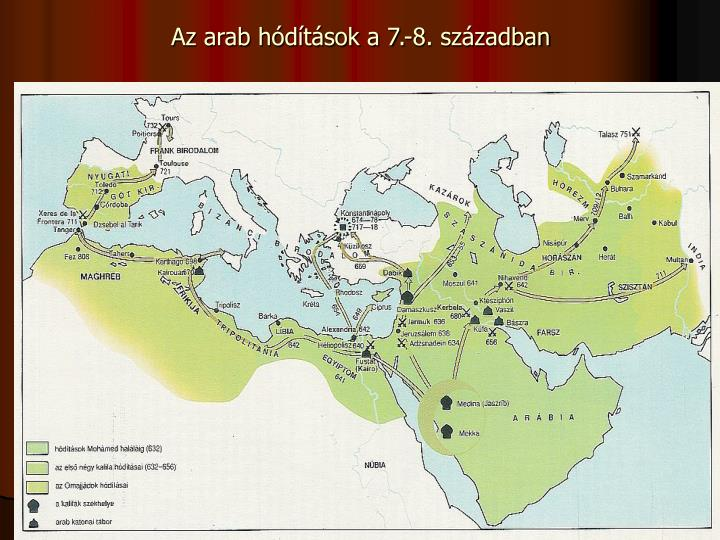 Az arab hdtsok a 7.-8. szzadban