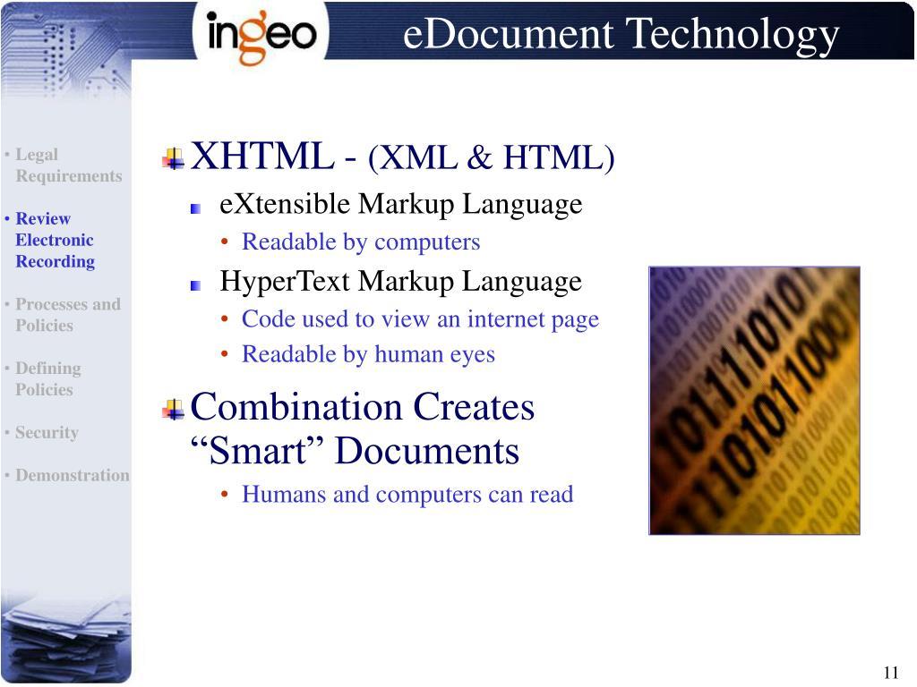 eDocument Technology