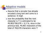 adaptive models25