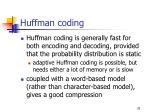 huffman coding35