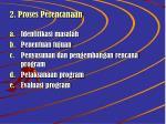 2 proses perencanaan