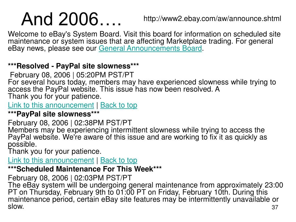 And 2006….