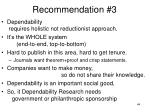 recommendation 3