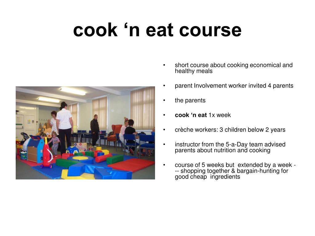 cook 'n eat course