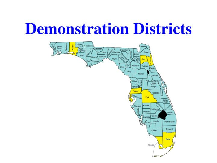 Demonstration Districts