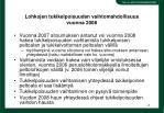 lohkojen tukikelpoisuuden vaihtomahdollisuus vuonna 2008