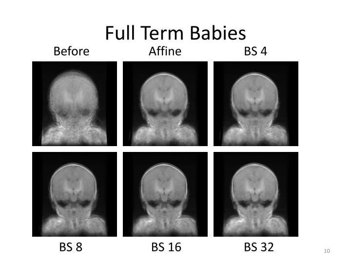 Full Term Babies