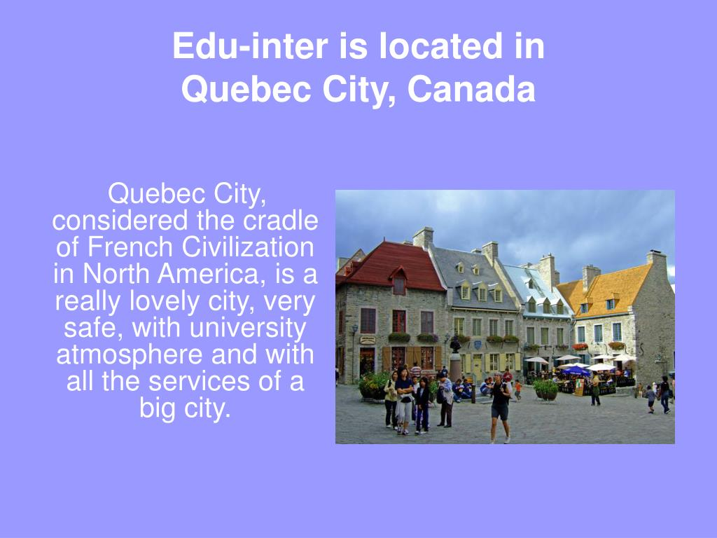 Edu-inter is located in