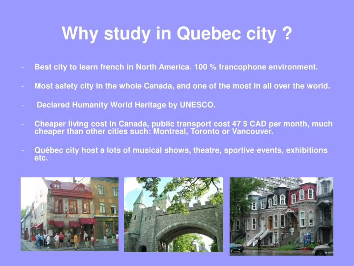 Why study in quebec city l.jpg