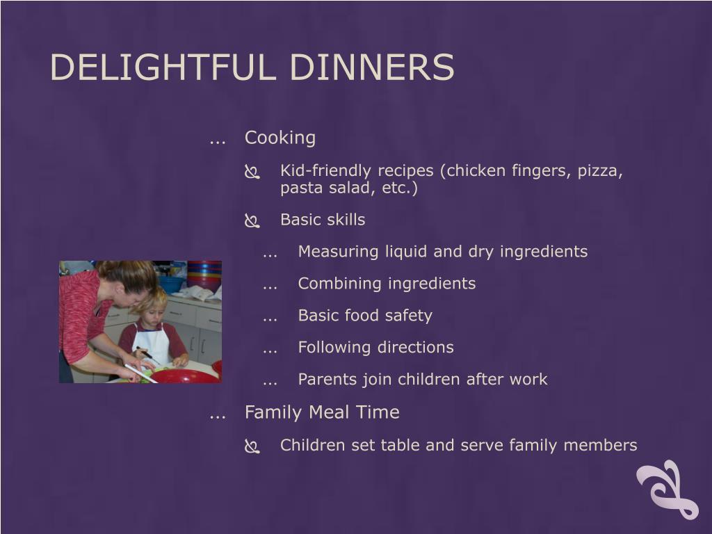Delightful Dinners