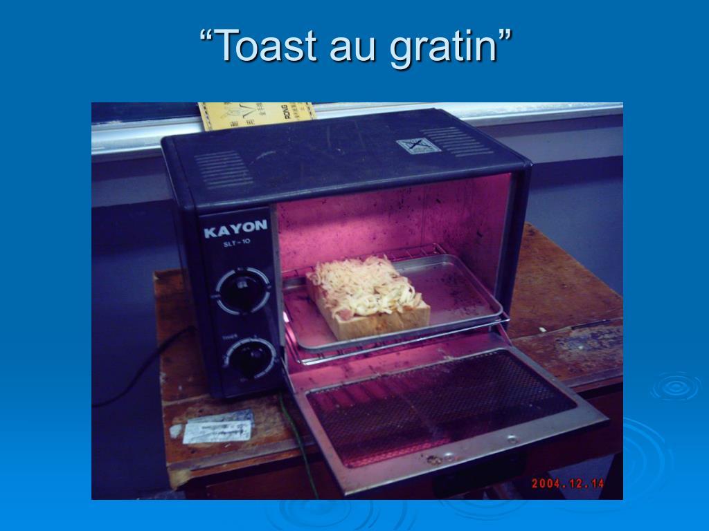 """""""Toast au gratin"""""""