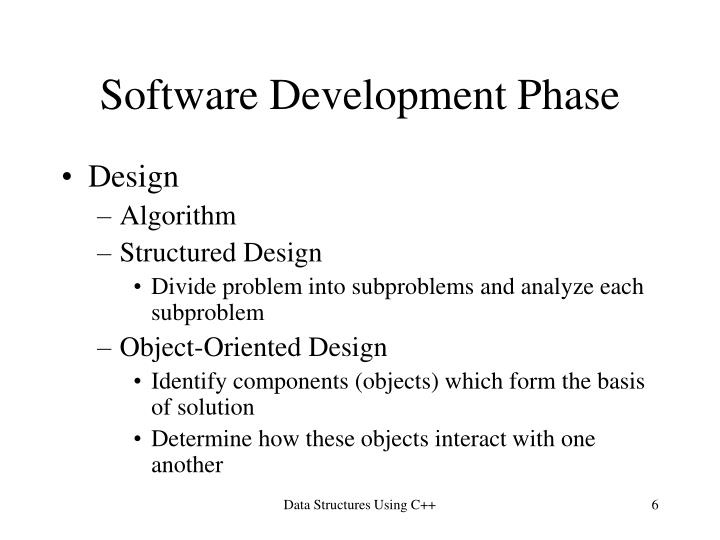 Software Development Phase