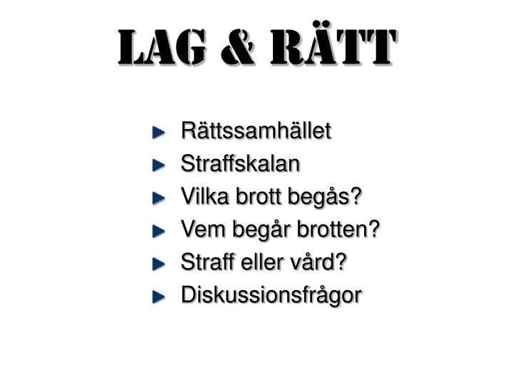 Lag & Rtt