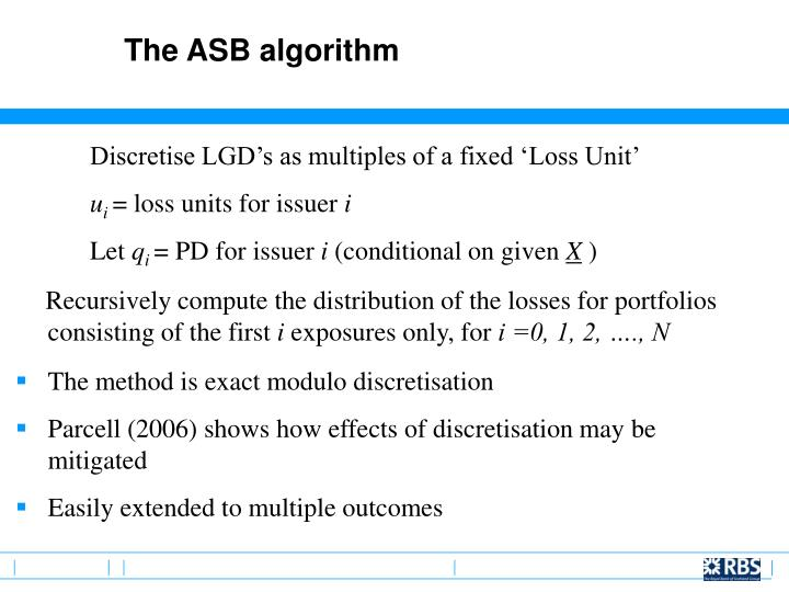 The ASB algorithm