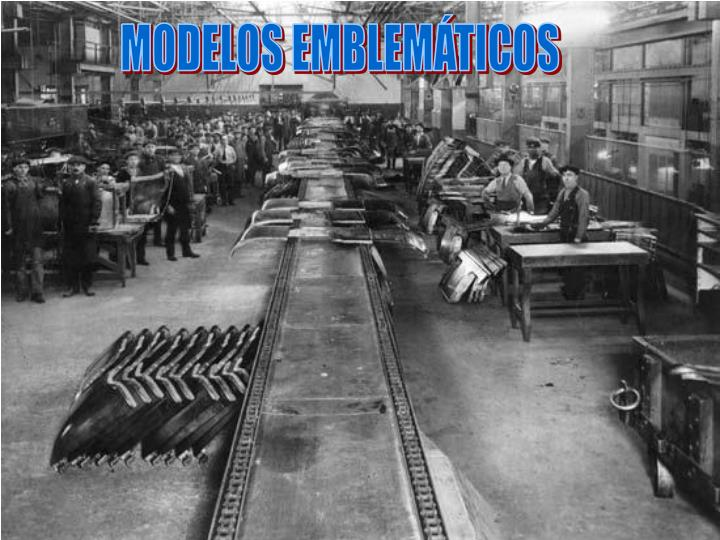 MODELOS EMBLEMÁTICOS