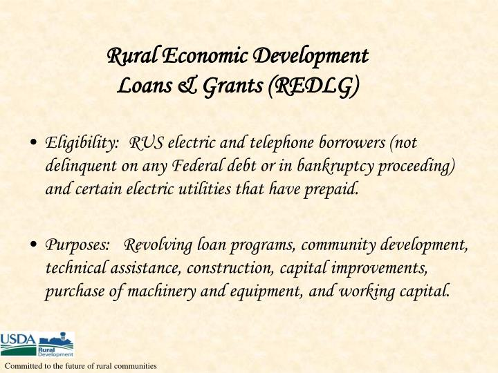 Rural Economic Development