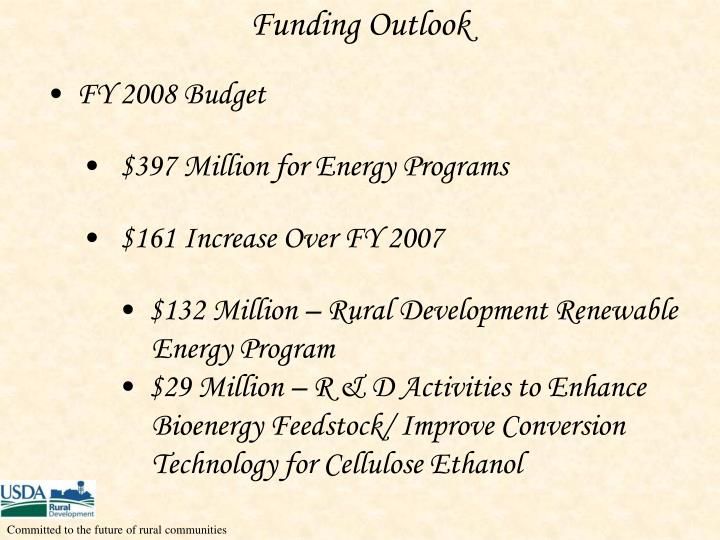 Funding Outlook