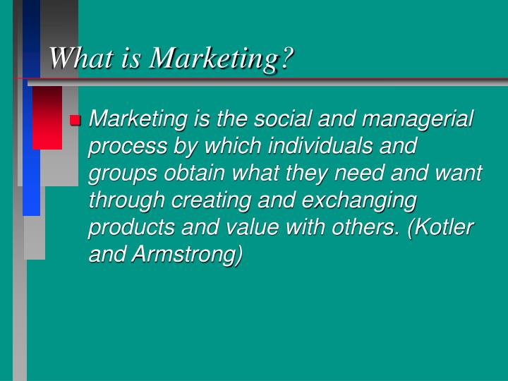 What is marketing3