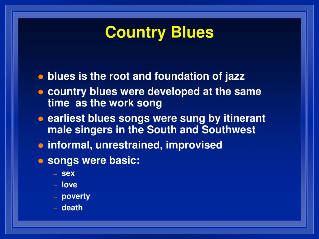 Country Blues