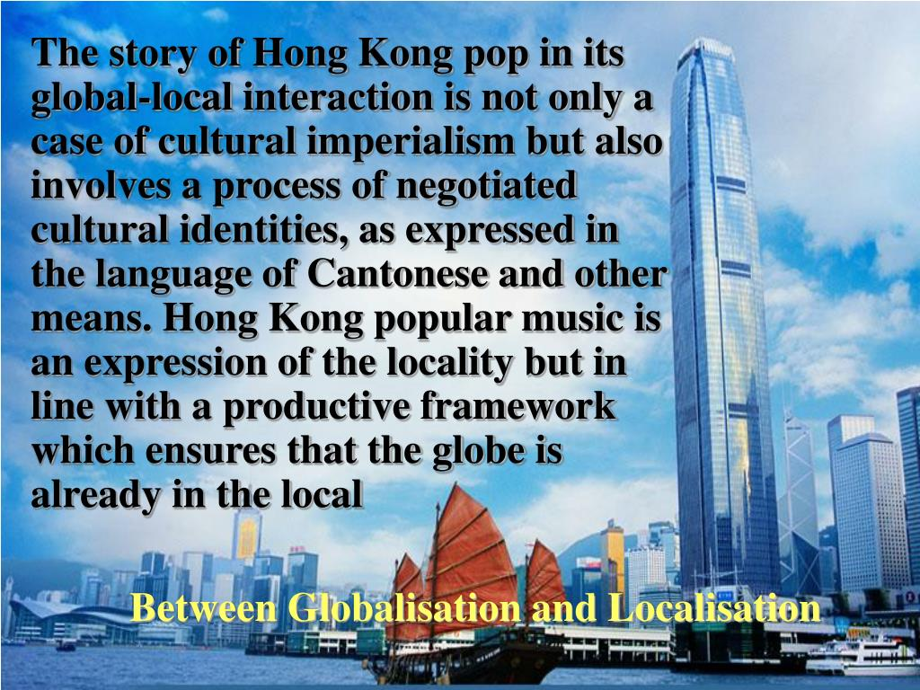 Between Globalisation and Localisation