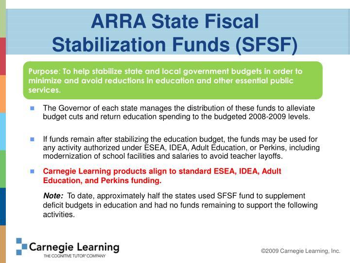 ARRA State Fiscal