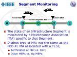 segment monitoring