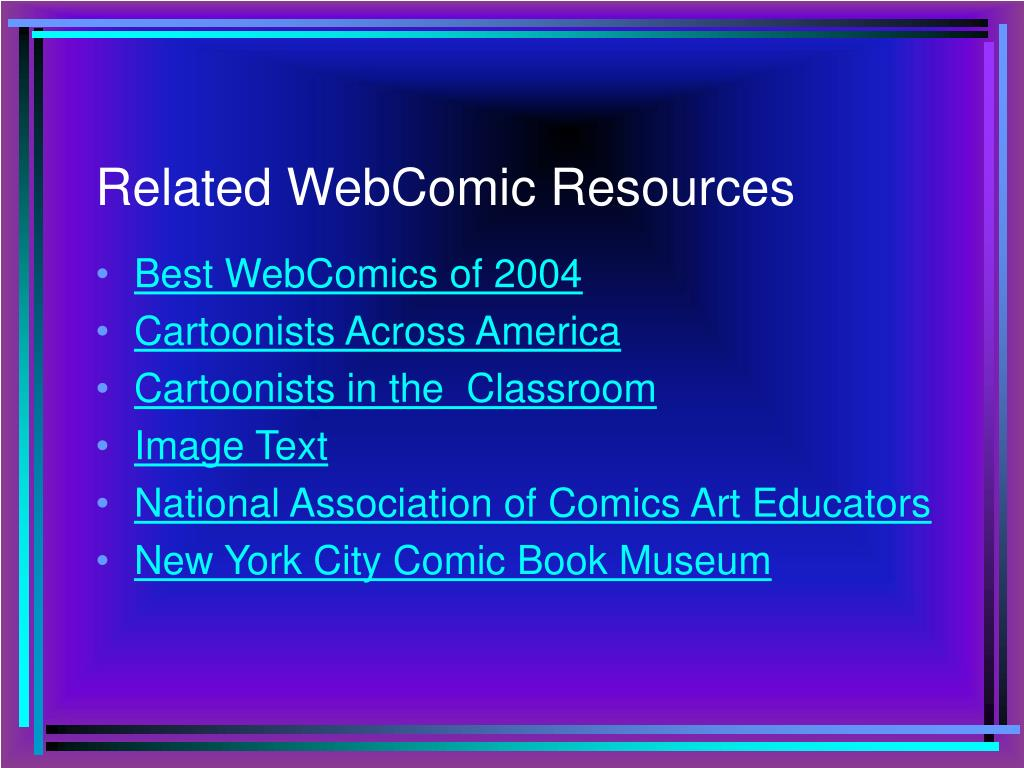 Related WebComic Resources