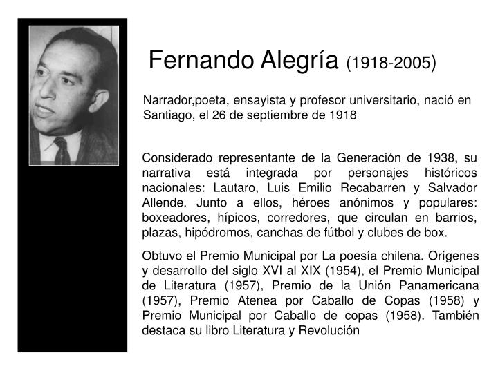 Fernando Alegra