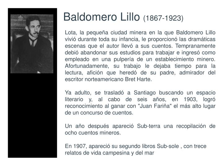Baldomero Lillo
