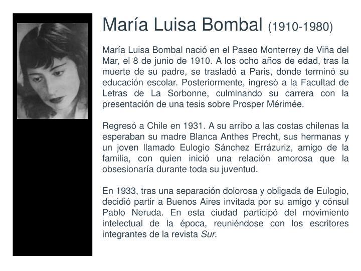 Mara Luisa Bombal