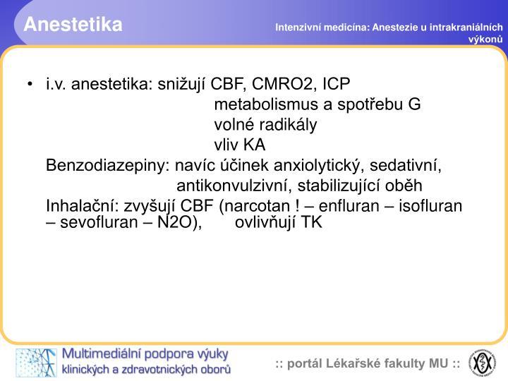 Anestetika