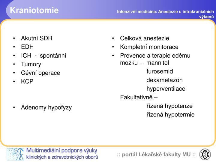Kraniotomie
