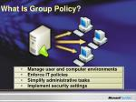 what is group policy