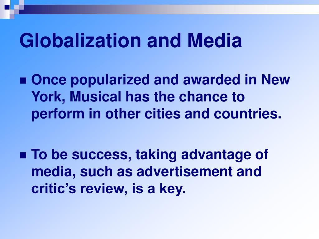 Globalization and Media
