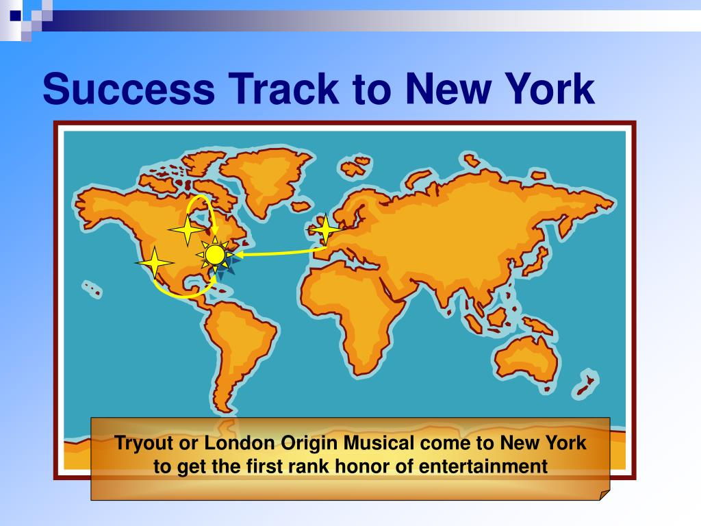 Success Track to New York
