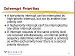 interrupt priorities30