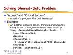 solving shared data problem36