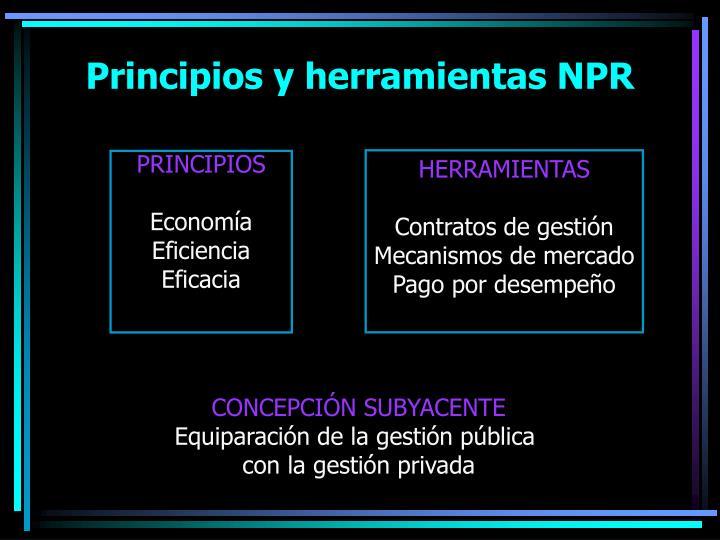Principios y herramientas NPR