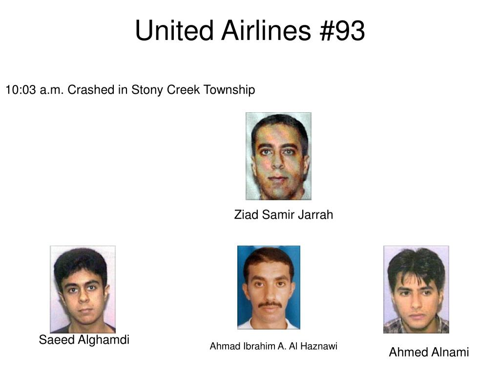 United Airlines #93