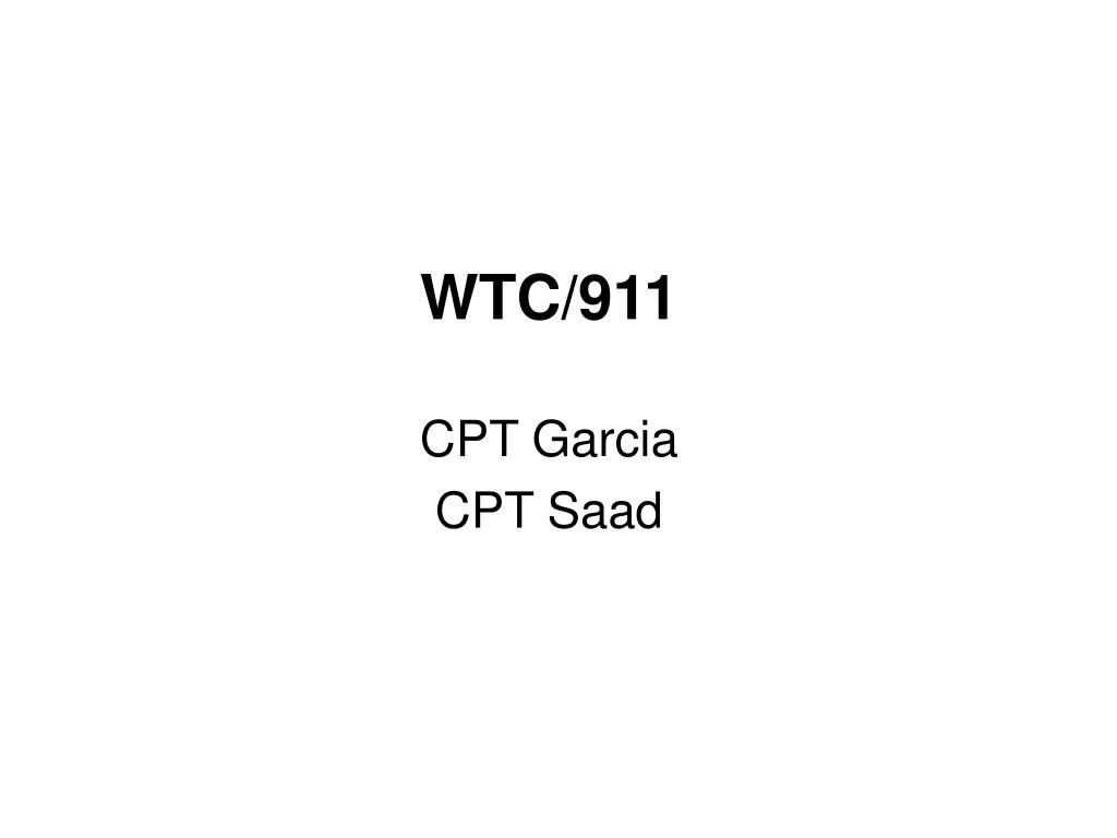 WTC/911
