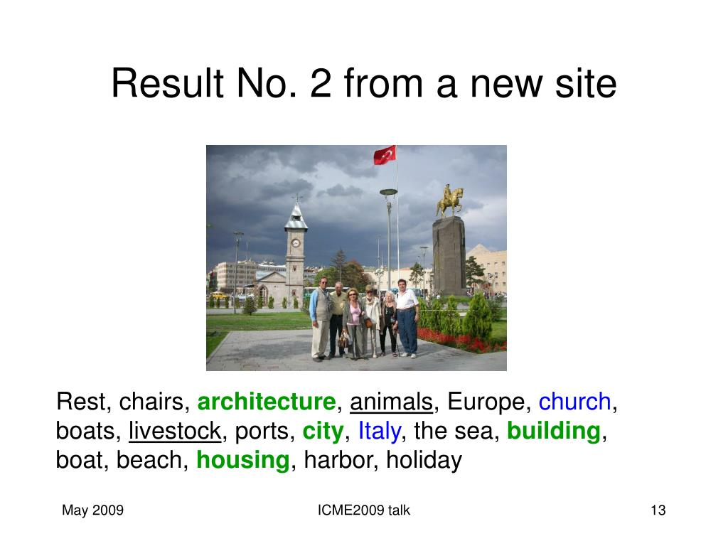 Result No. 2 from a new site