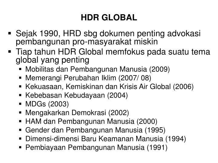 HDR GLOBAL
