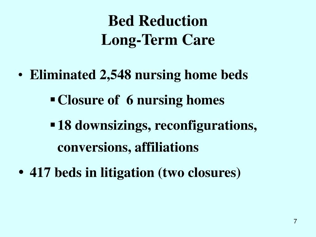 Bed Reduction